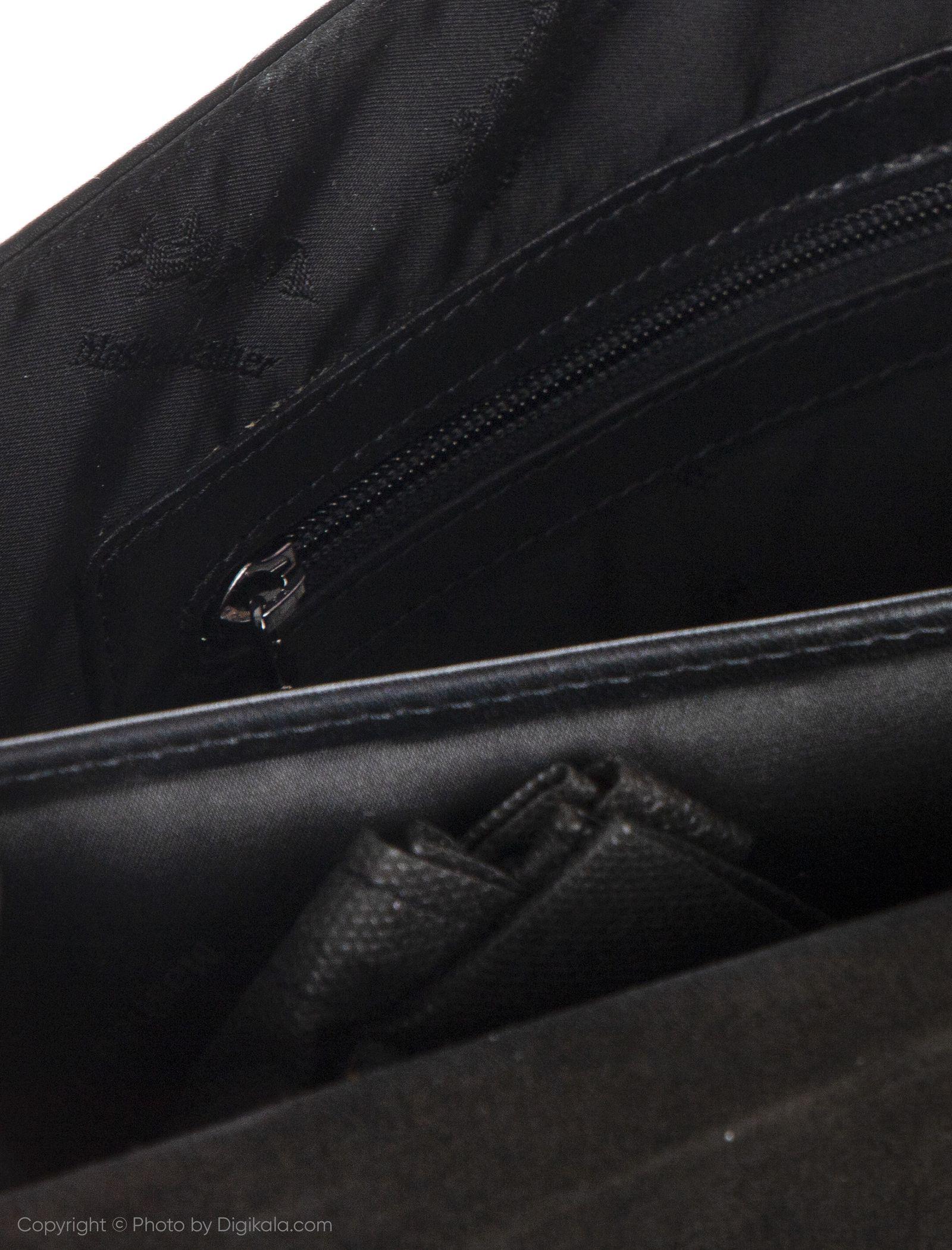 کیف اداری مردانه چرم مشهد مدل A0584-001 -  - 5