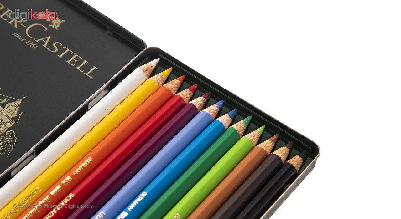 مداد رنگی 12 رنگ فابر-کاستل مدل Polychromos