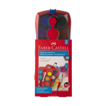 آبرنگ 24 رنگ فابر-کاستل مدل Cannector