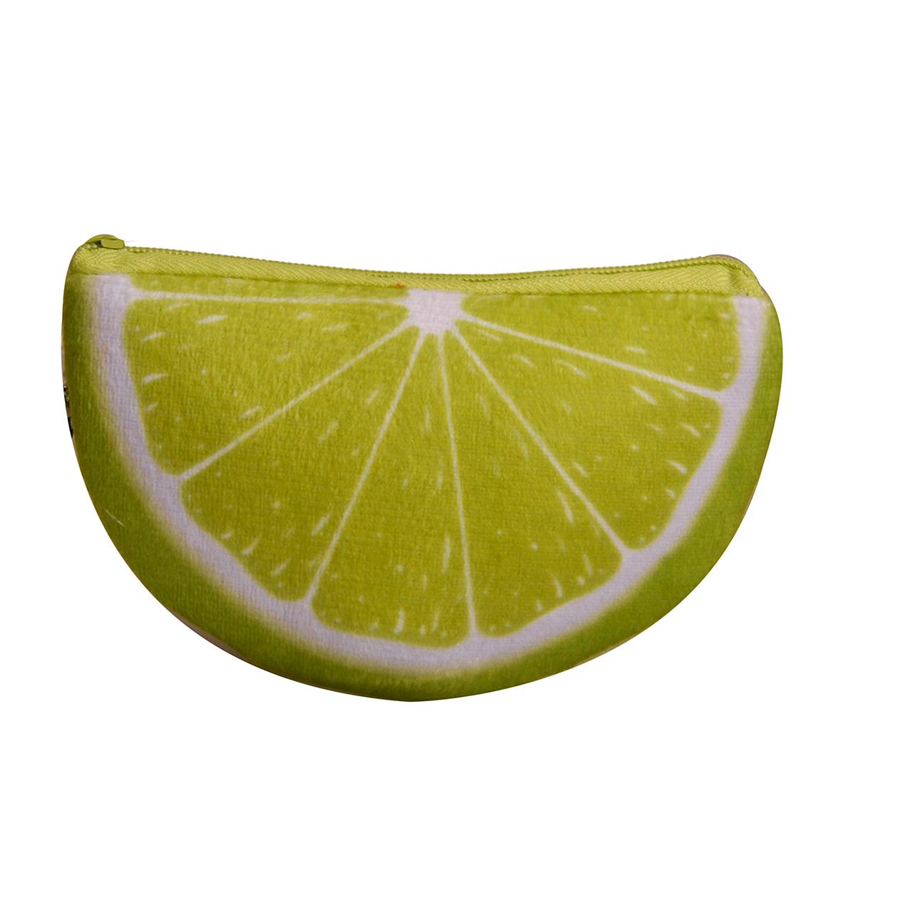 کیف پول دخترانه طرح لیمو