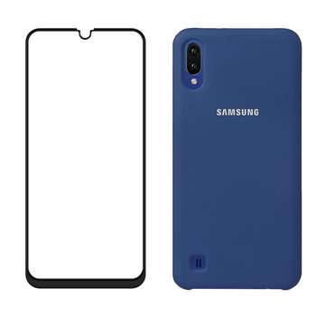 کاور مدل bjn مناسب برای گوشی موبایل سامسونگ Galaxy a10 به همراه محافظ صفحه نمایش