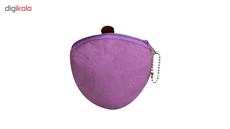کیف پول دخترانه طرح تمشک