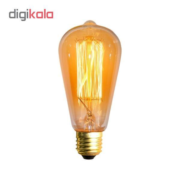 لامپ 40 وات مدل ST64 پایه E27