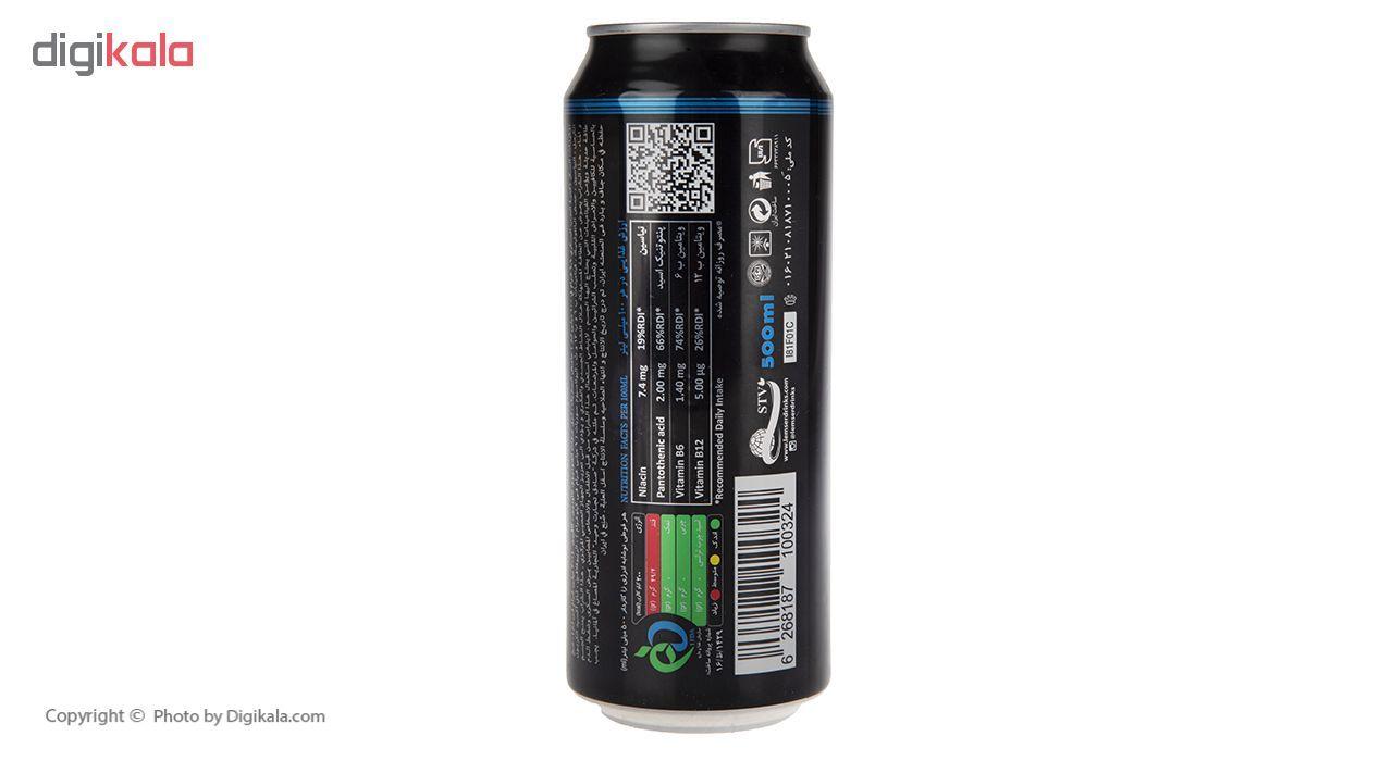 نوشیدنی انرژی زا لمسر حجم 500 میلی لیتر بسته 6 عددی main 1 3