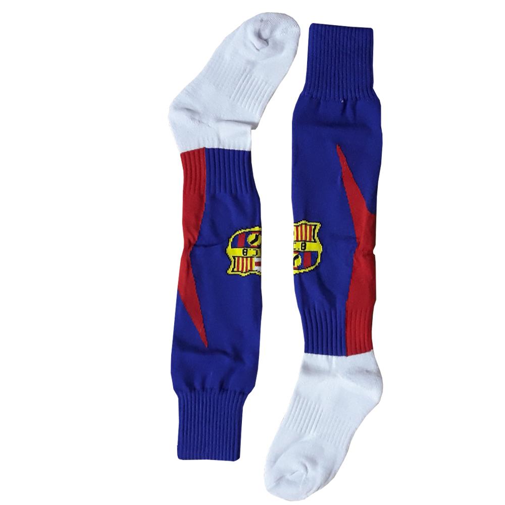 جوراب ورزشی مردانه طرح بارسلونا کد M 01
