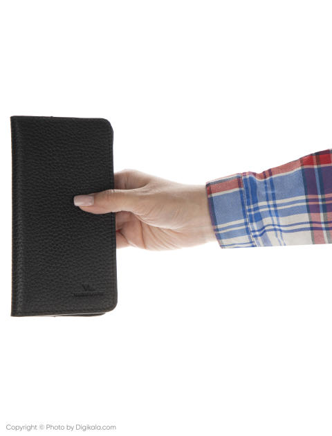 کیف پول مردانه چرم مشهد مدل D0605-001 -  - 3