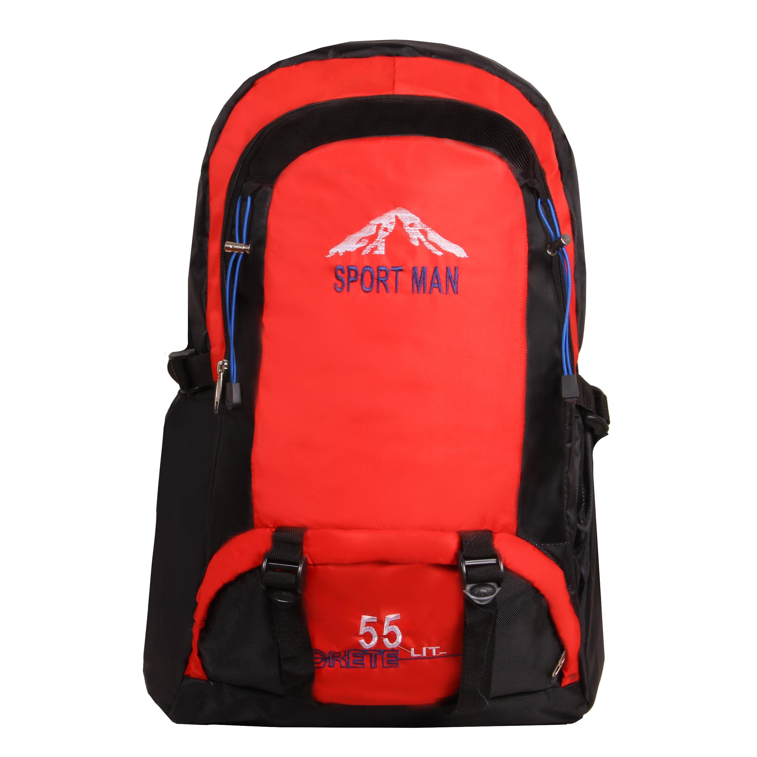 خرید                     کوله پشتی کوهنوردی 55 لیتری اسپرت من کد 6356