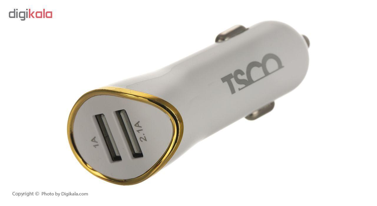 شارژر فندکی تسکو مدل TCG 31 به همراه کابل microUSB main 1 5