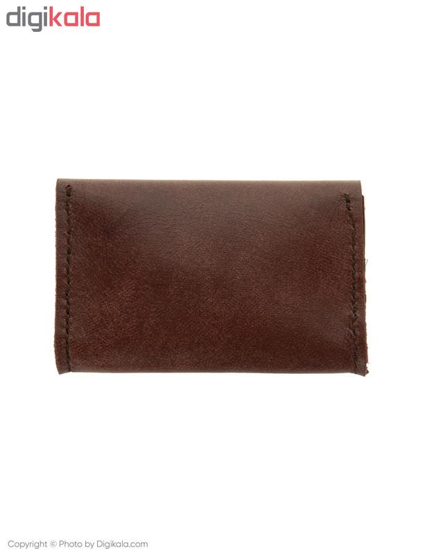 کیف کارت چرم لانکا مدل 1603132-10