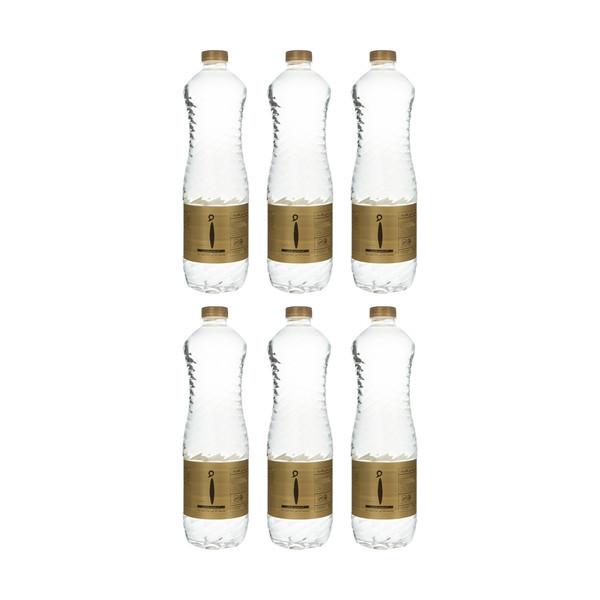 آب معدنی اُ حجم 1 لیتر بسته بندی 6 عددی