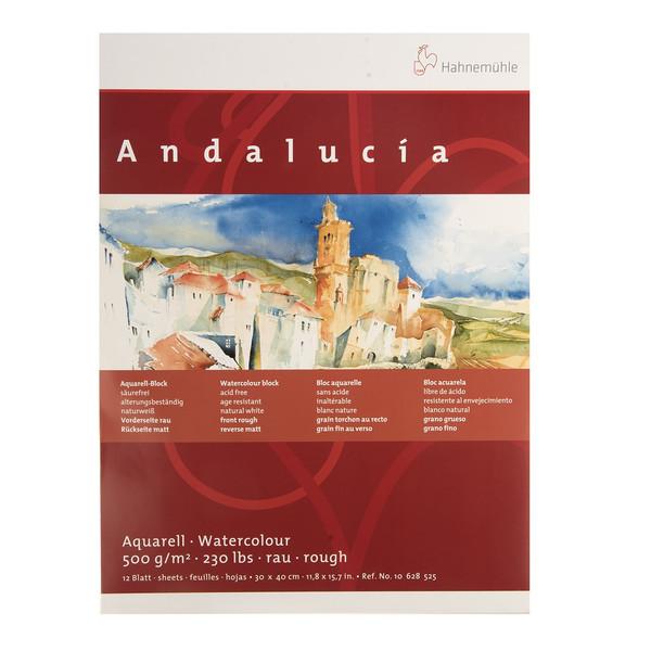بوم آبرنگ دفترچهای هانه موله مدل Andalucia سایز 40 × 30 سانتیمتر 12 برگ