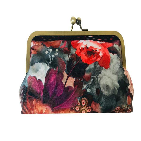 کیف پول زنانه طرح گل
