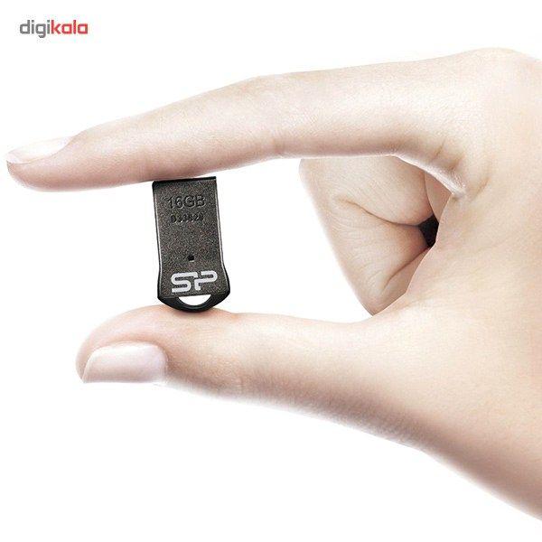 فلش مموری سیلیکون پاور مدل Touch T01 ظرفیت 16 گیگابایت main 1 3