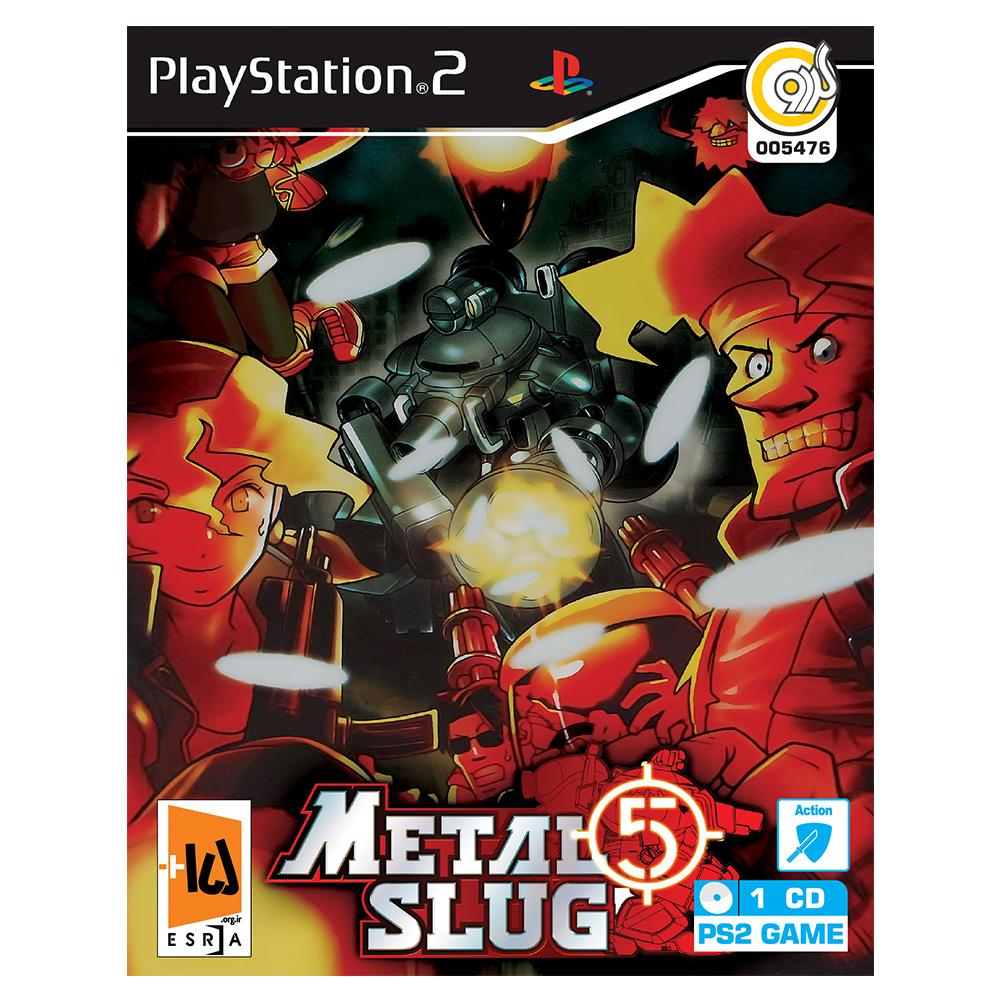 خرید اینترنتی بازی Metal Slug 5 مخصوص PS2 نشر گردو اورجینال
