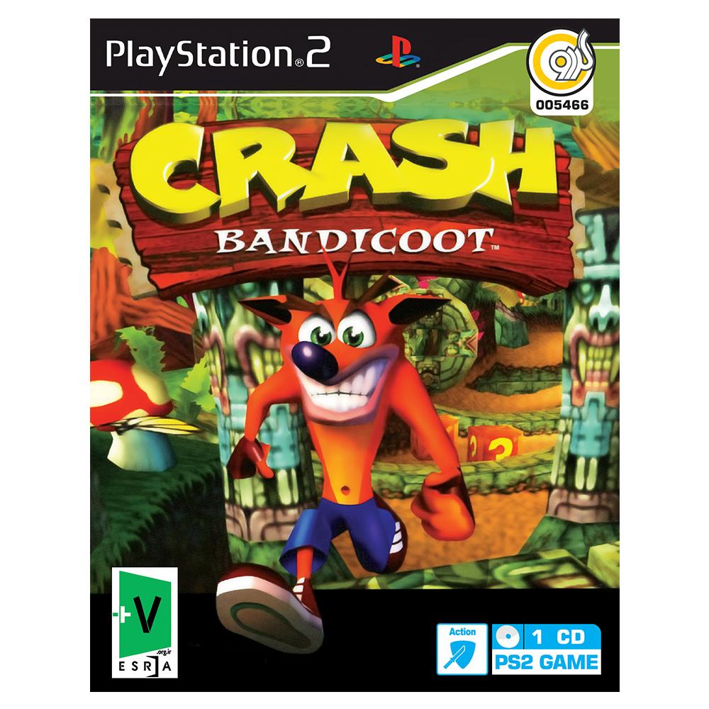 بازی Crash Bandicoot مخصوص PS2 نشر گردو