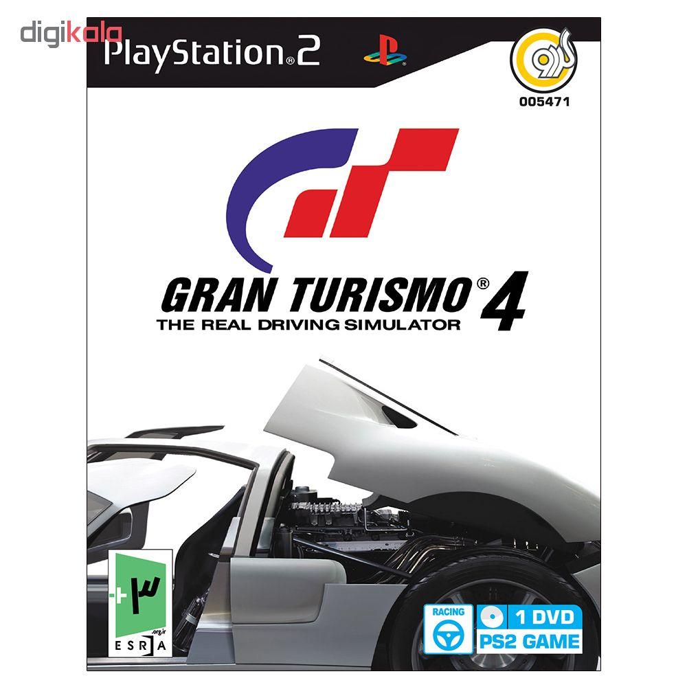 بازی Gran Turismo 4 مخصوص PS2 نشر گردو