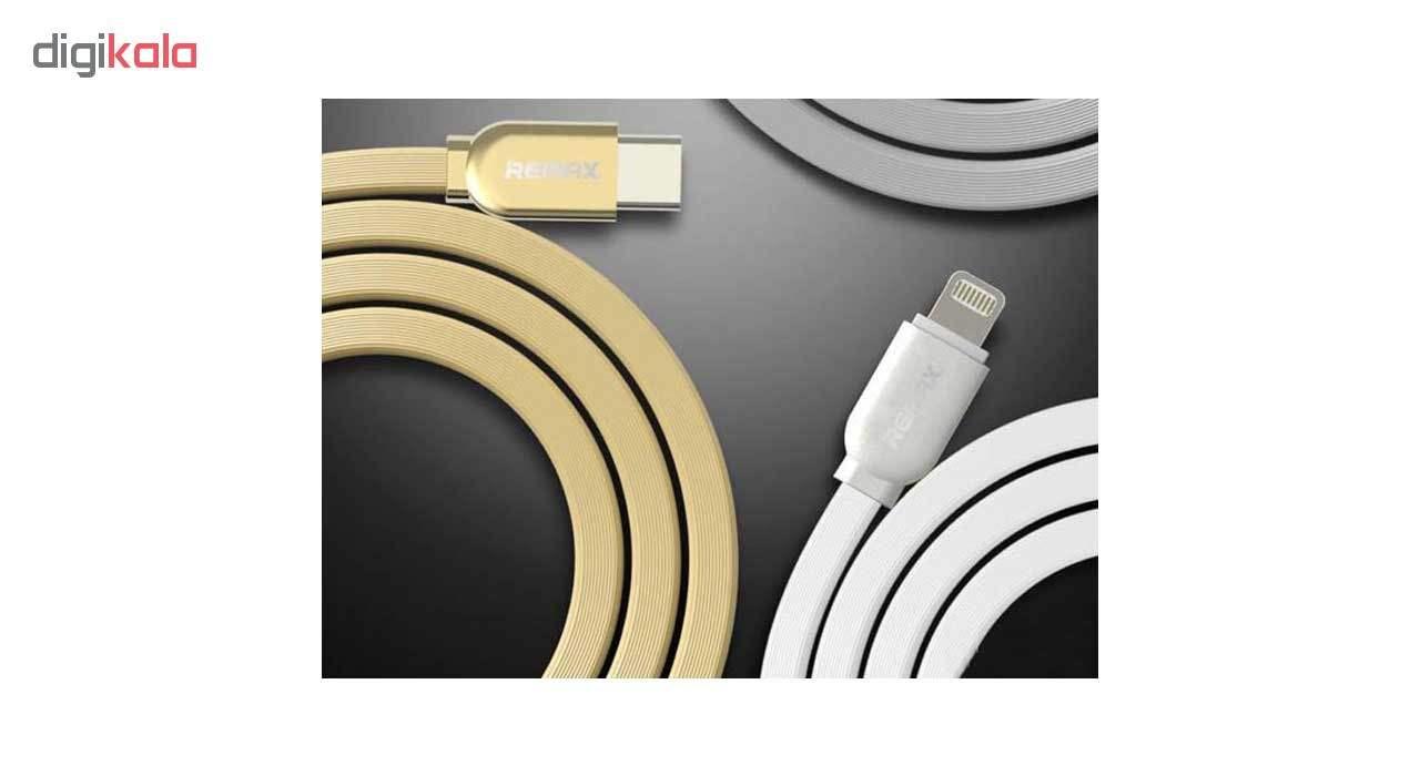 کابل تبدیل USB-C به لایتنینگ ریمکس مدل RC-037a طول 1 متر main 1 1