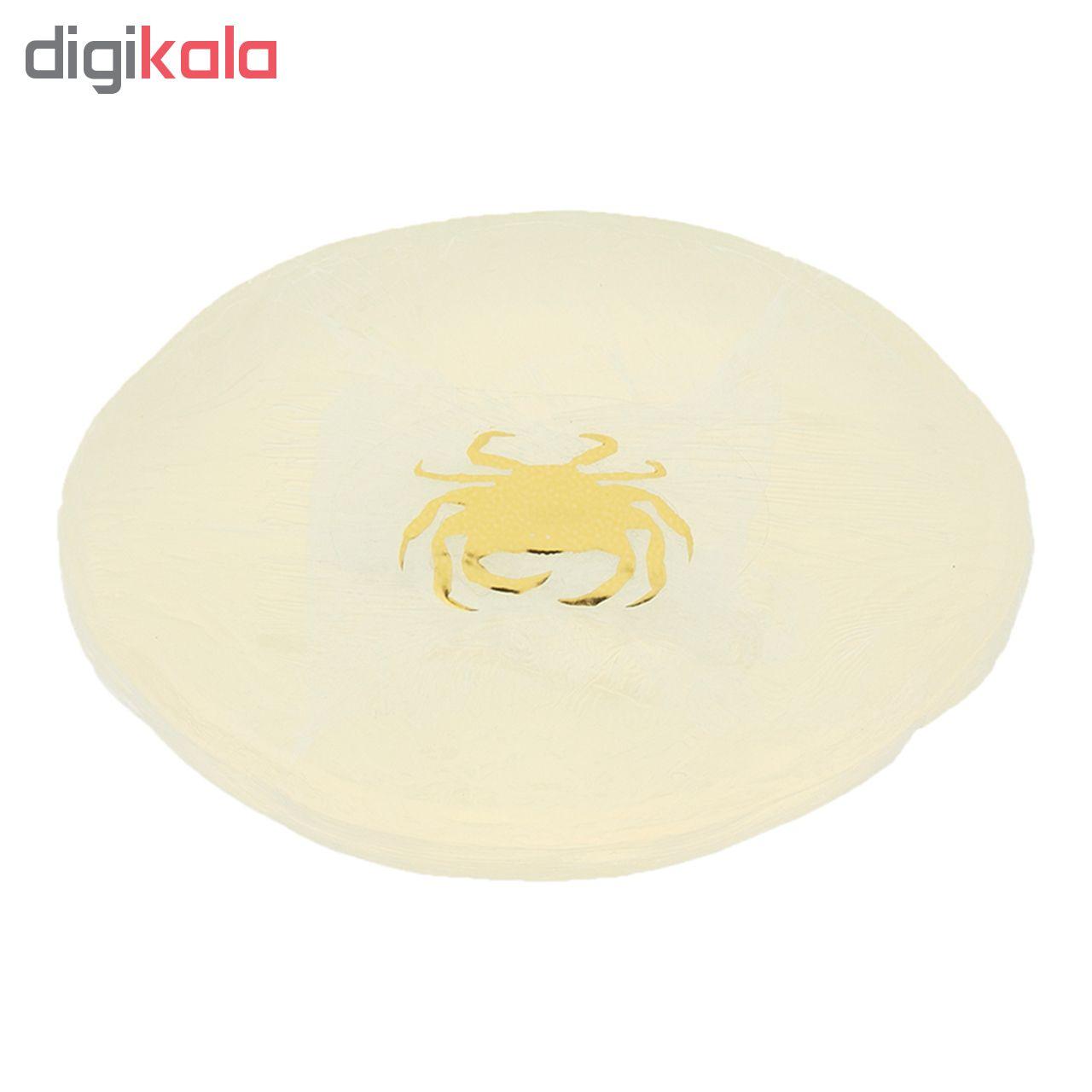 صابون ضد چروک و روشن کننده والنسی مدل خرچنگ وزن 100 گرم مجموعه 2 عددی