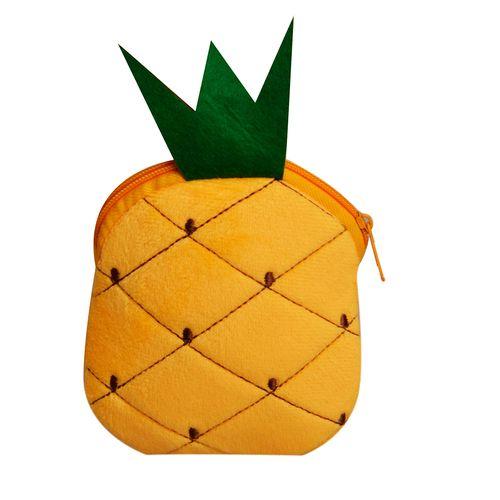 کیف پول دخترانه طرح آناناس کد 01