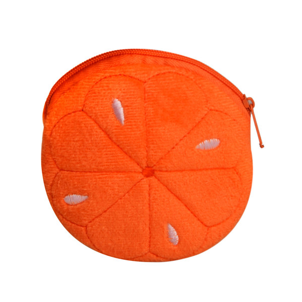 کیف پول دخترانه طرح پرتقال کد 01
