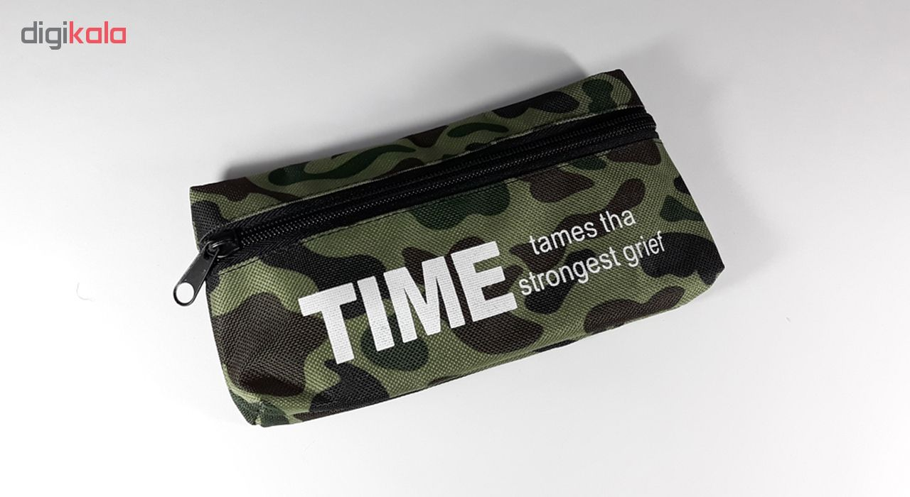 قیمت خرید جامدادی طرح ارتشی مدل Time کد 220 اورجینال