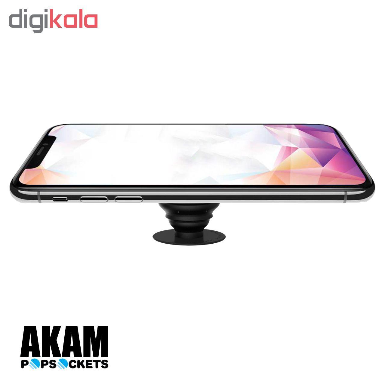 پایه نگهدارنده گوشی  موبایل پاپ سوکت آکام مدل APS0014 main 1 6