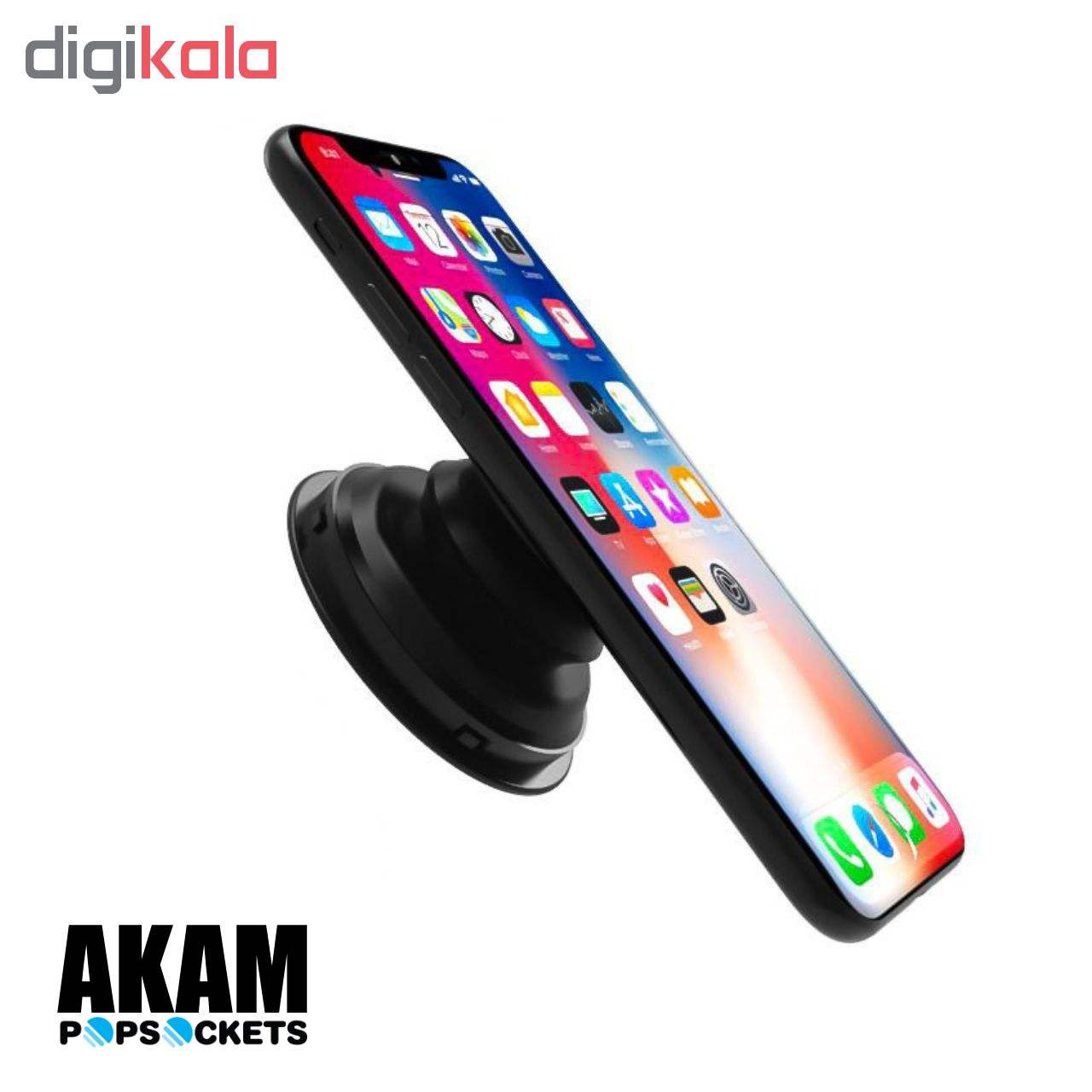 پایه نگهدارنده گوشی  موبایل پاپ سوکت آکام مدل APS0014 main 1 9