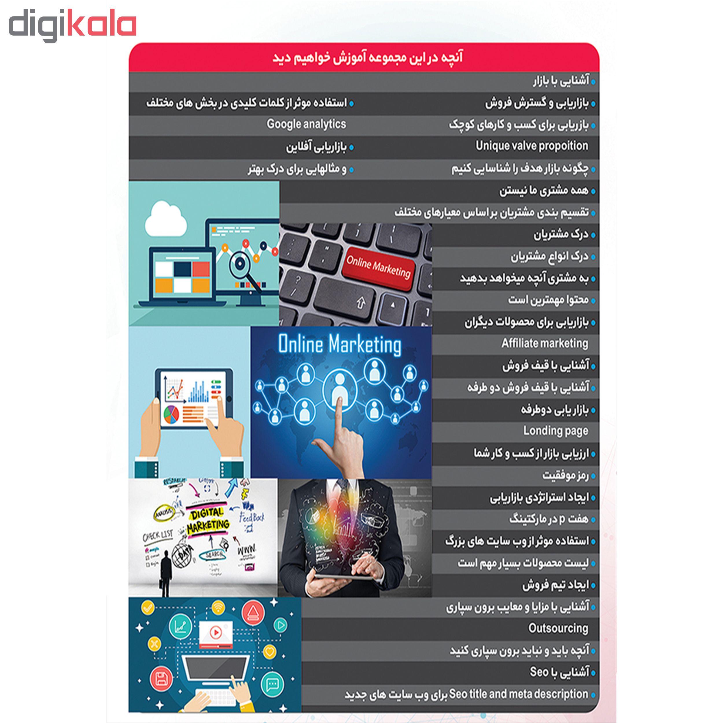 نرم افزار آموزشی بازاریابی آنلاین نشر پدیا سافت به همراه نرم افزار آموزشی تکنیکال بورس نشر پدیده