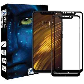 محافظ صفحه نمایش آواتار مدل XMPCF1-2 مناسب برای گوشی موبایل شیائومی Poco F1 بسته دو عددی