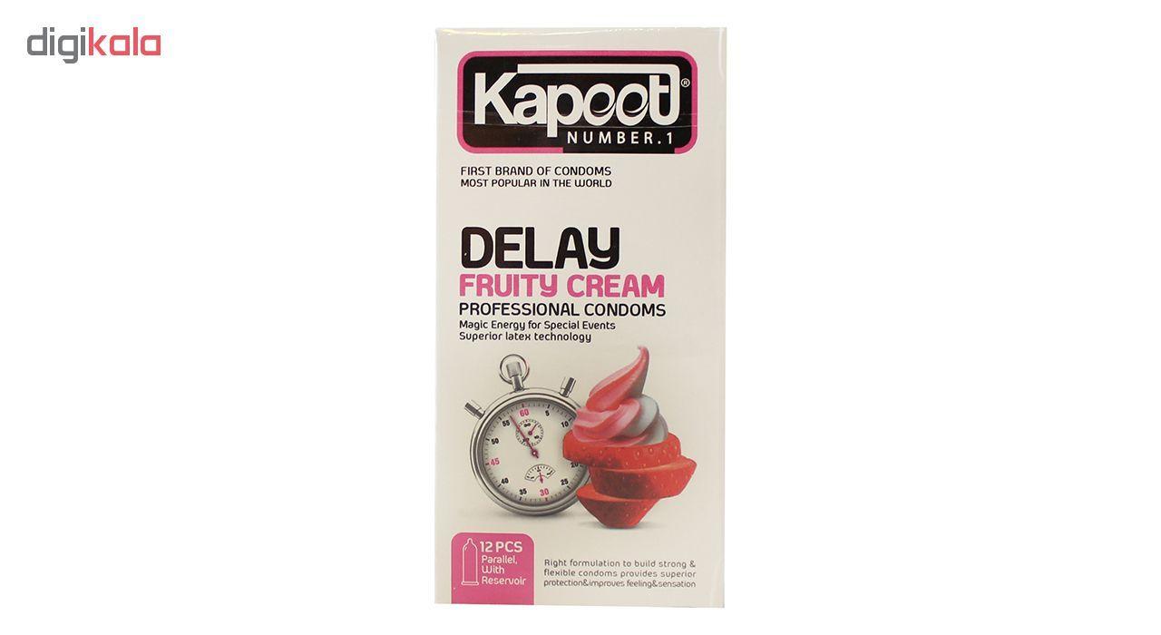 کاندوم کاپوت مدل Delay Fruty Cream بسته 12 عددی main 1 1