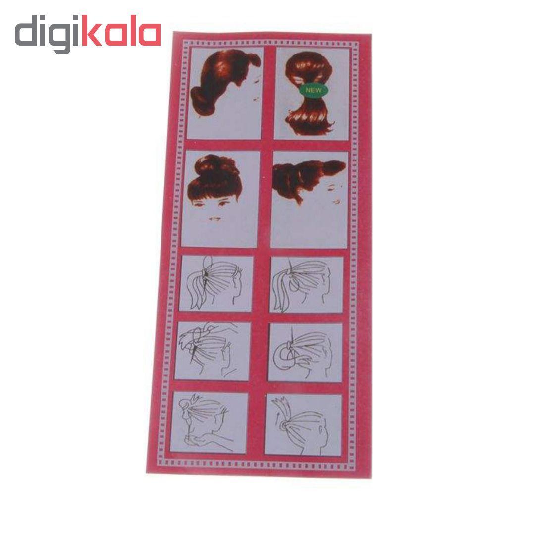 مجموعه ابزار بافت مو کد 340 بسته 4 عددی main 1 3