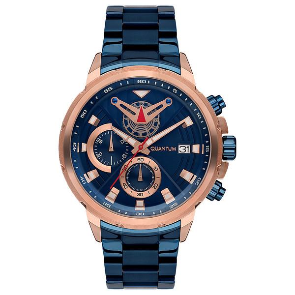 ساعت مچی عقربه ای مردانه کوانتوم مدل PWG702.490