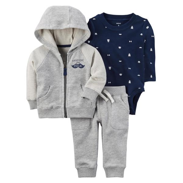 ست 3 تکه لباس نوزادی پسرانه کارترز کد 1021