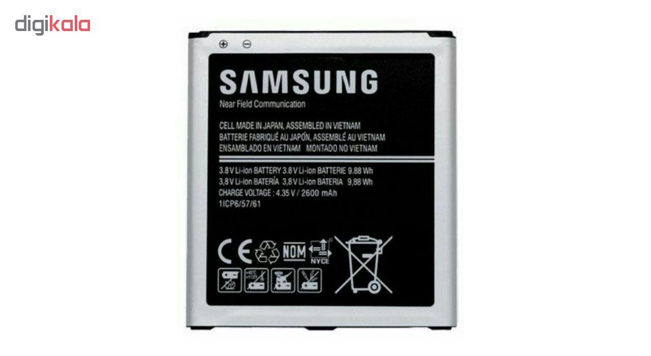 باتری موبایل مدل EB-BG530BBE ظرفیت 2600 میلی آمپر ساعت مناسب برای گوشی موبایل سامسونگ Galaxy J5 2015 / Grand Prime Plus / J3  main 1 1