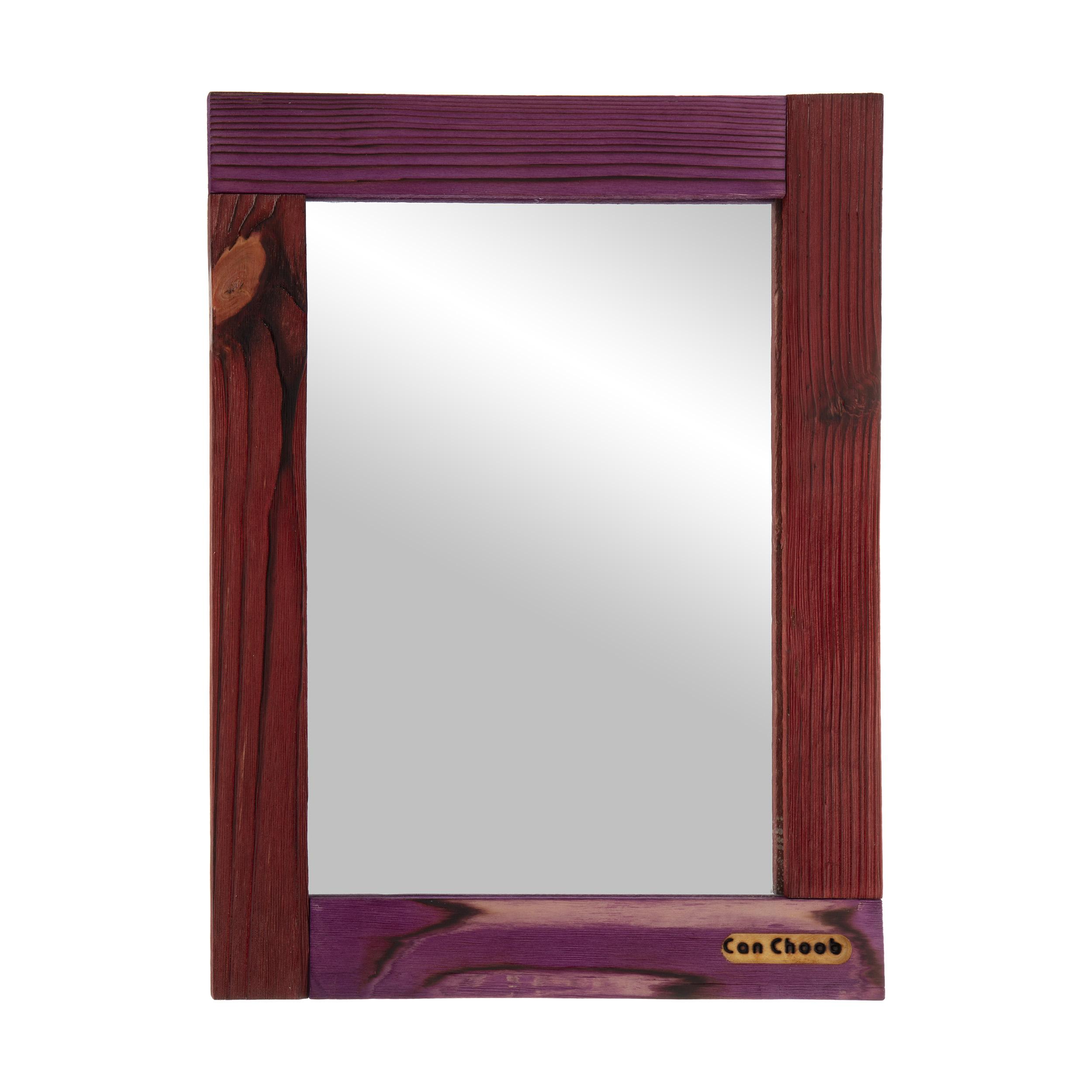 آینه کن چوب مدل آبگینه