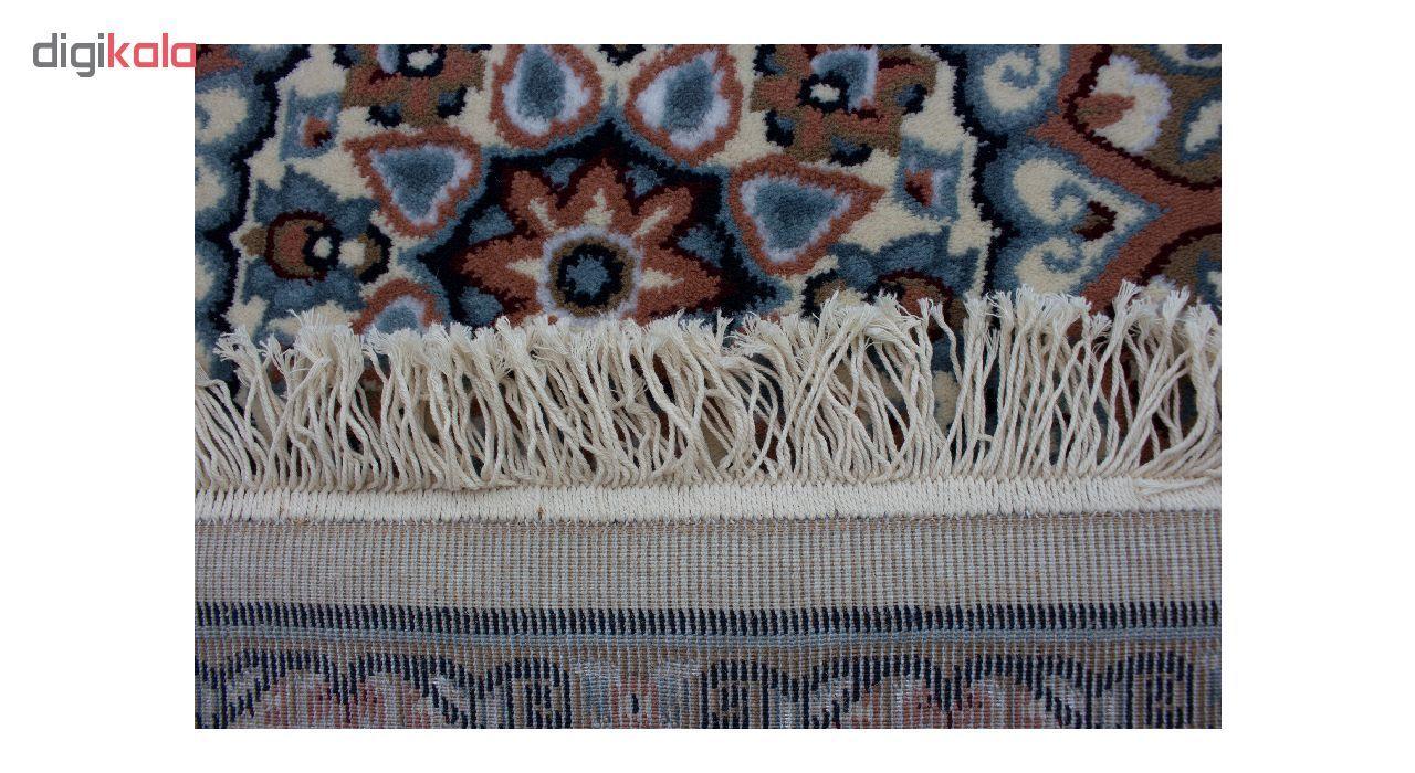 فرش ماشینی ساوین کد 2105 زمینه کرم main 1 4