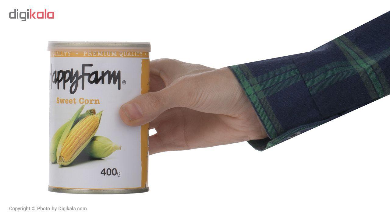 کنسرو ذرت شیرین هپی فارم - 400 گرم main 1 4