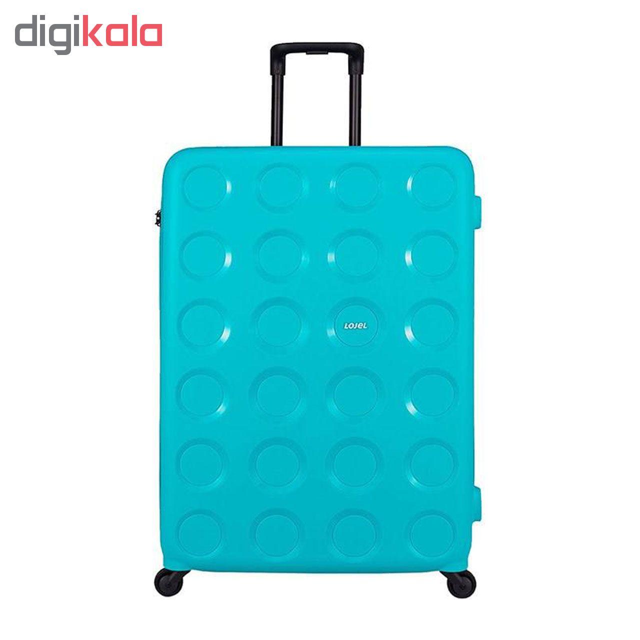 مجموعه سه عددی چمدان لوجل مدل VIta