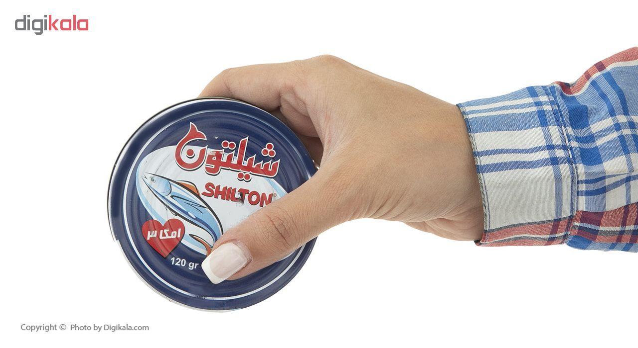 کنسرو ماهی تون در روغن شیلتون وزن 120 گرم main 1 3