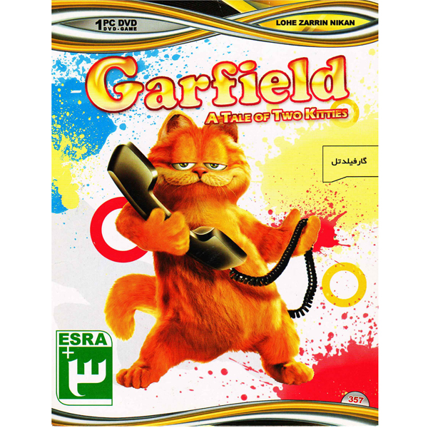 بازی Garfield A Tale Of Two Kitties مخصوص Pc