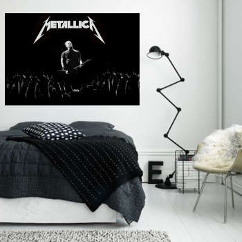 تابلو شاسی سری برترین گروه های موسیقی متال طرح متالیکا کد 503