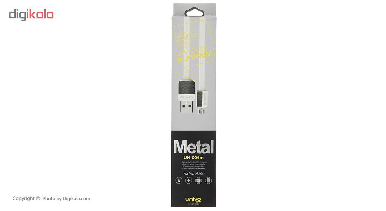 کابل تبدیل USB به microUSB یونیوو مدل UN-004m طول 1 متر main 1 3