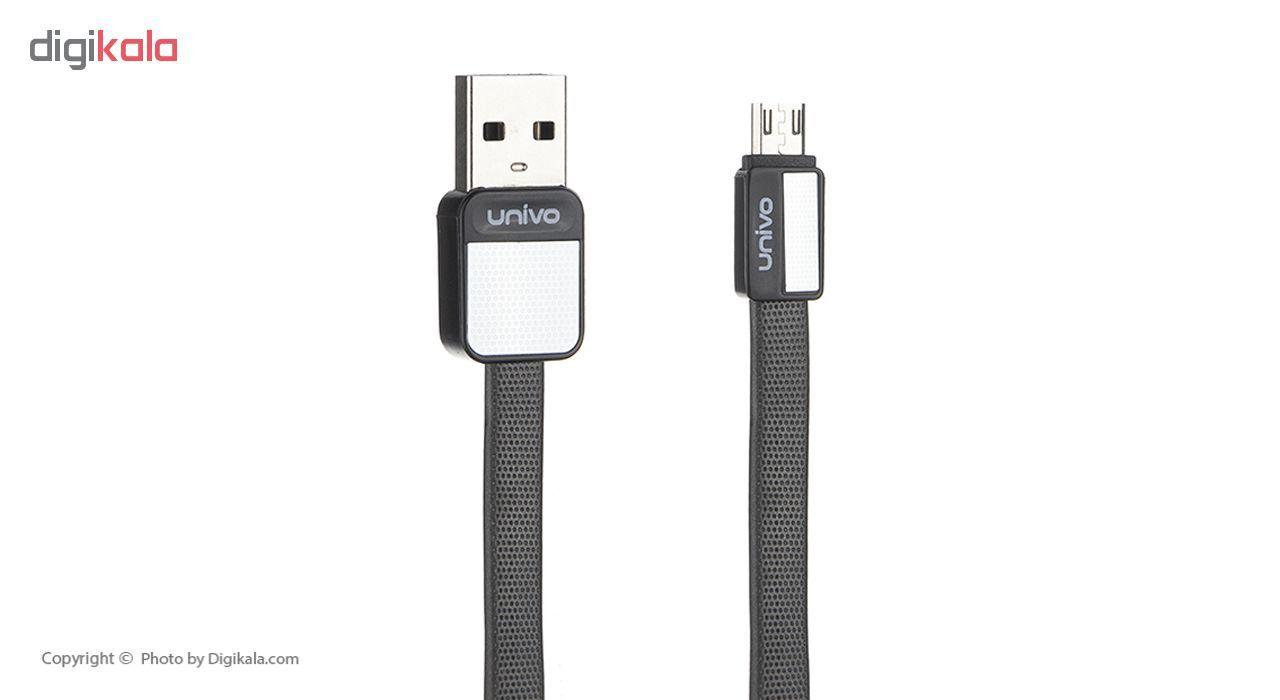 کابل تبدیل USB به microUSB یونیوو مدل UN-004m طول 1 متر main 1 2