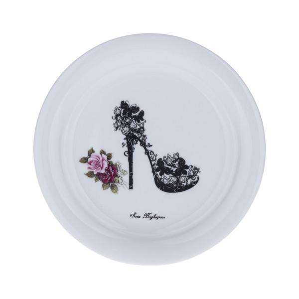 پیش دستی سارا باقرپور مدل Rosy-shoes بسته 6 عددی