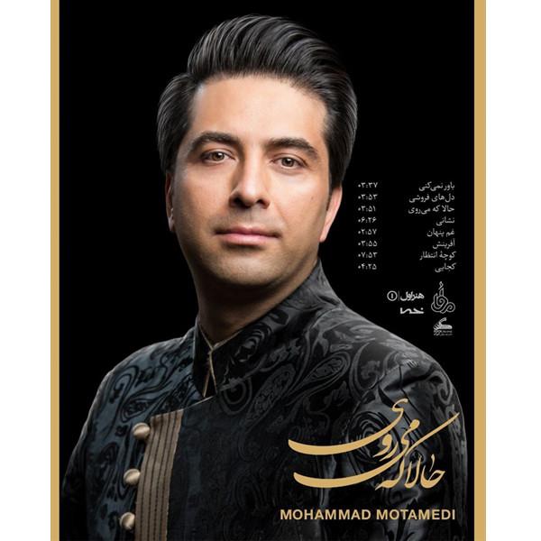 آلبوم موسیقی حالا که میروی اثر محمد معتمدی نشر هنر اول