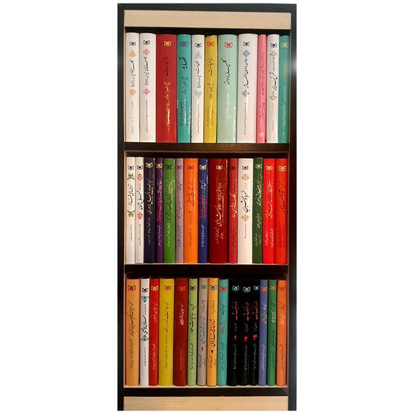 کتاب گزیده ادب پارسی اثر جمعی از نویسندگان انتشارات قدیانی مجموعه 40 جلدی
