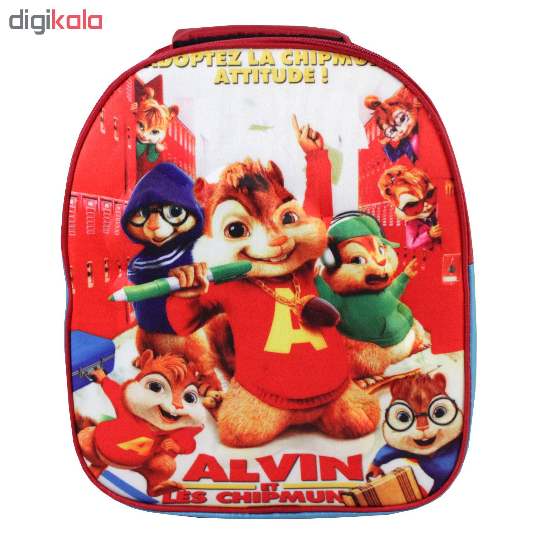 کوله پشتی طرح Alvin کد R06