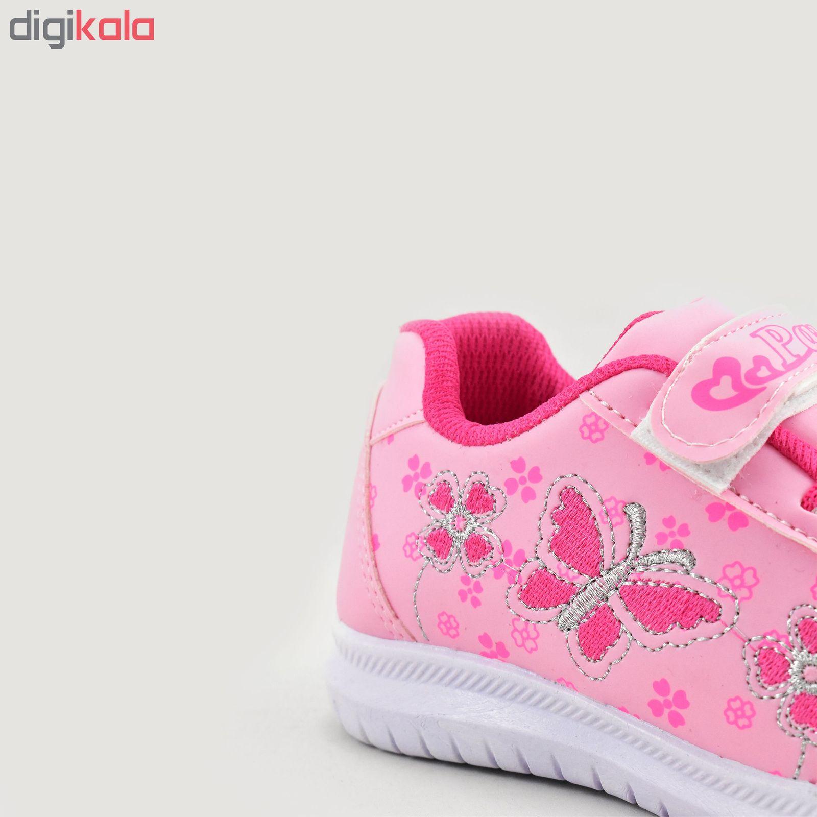 کفش ورزشی دخترانه طرح پروانه کد 4444 main 1 3