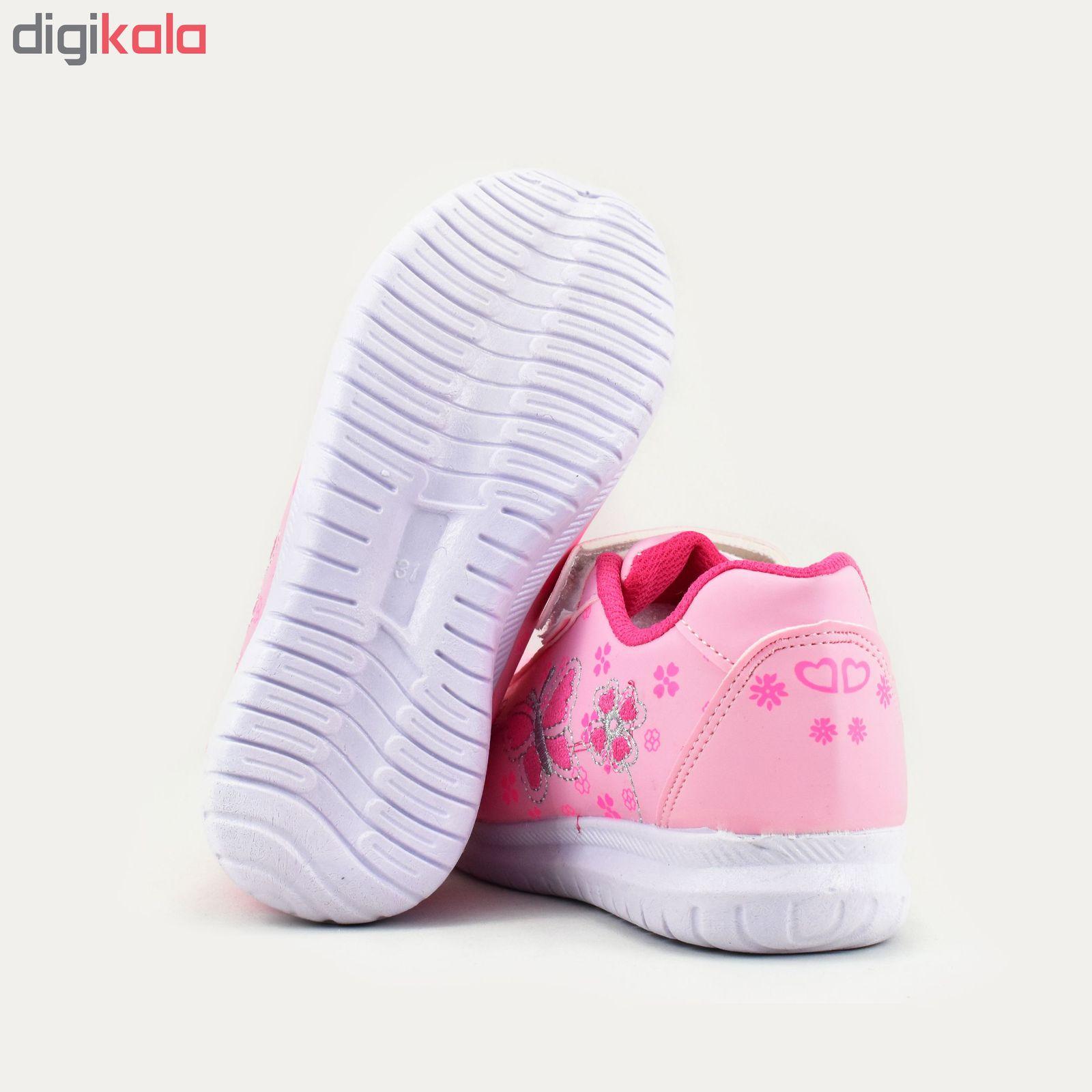 کفش ورزشی دخترانه طرح پروانه کد 4444 main 1 5