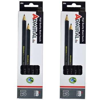 مداد آدمیرال  کد 12 بسته 2 عددی